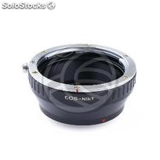 Canon EOS lens adapter to Nikon 1 camera (JD75)