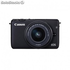 Canon - eos M10 + ef-m 15-45mm f/3.5-6.3 is stm milc 18MP cmos 5184 x