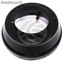 Canon FD lens adapter to Nikon 1 camera (JD74)