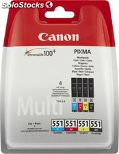 Canon pack cart CL551 c/y/m/n