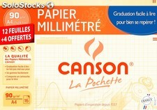 Canson 16F millimetre A4 90G