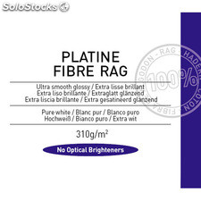 Canson Infinity Platine Fibre Rag 310 g/m2 - Pack 25 hojas A4