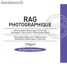 Canson Infinity Rag Photographique 210 g/m2 - Pack 25 hojas A3+