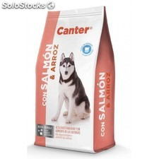 Canter salmon y arroz 20kg