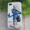 Capa / case para iphone 4 / 4s - the smurfs