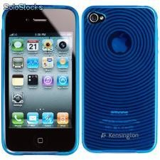 Capa Grip Azul iPhone 4 e 4s