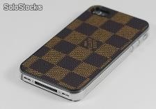 Capa /iphone 4/4s louis vuitton quadriculada marrom