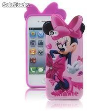 Capa para iphone 4 minnie- 3