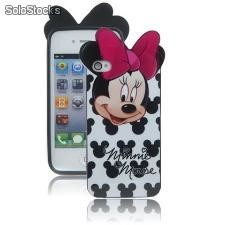 Capa para iphone 4 minnie- 4