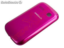 Capa traseira rosa fucsia para Alcatel One Touch Pop C3, 4033, 4033D