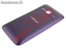 Capa traseira violeta Alcatel One Touch M&#39.Pop, 5020D