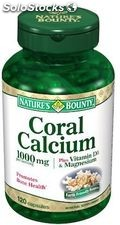 capsules de 120 Nature Bounty Coral Calcium Plus