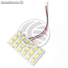 Car led Bulb W5W T10 BA9S Festoon C5W 18x5050SMD 45x23mm up (NK35)