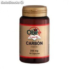 Carbon vegetal 60 caps 300 mg obire