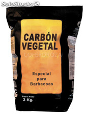 Carbon vegetal barbacoa saco 10 kg