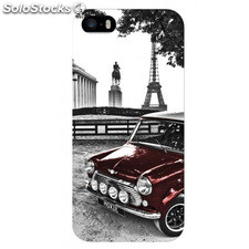 Carcasa bumper Coop Red car Iphone 5 Moxie negra