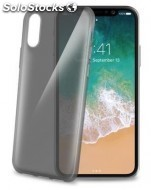 Carcasa celly cover tpu iphone 8 negra