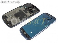 Carcasa frontal azul para Samsung Galaxy S3 mini version Value, I8200