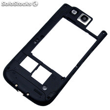Carcasa interior para Samsung Galaxy S3 (GT-I9300) Original color negro