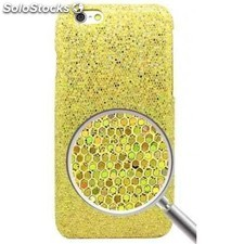 Carcasa iphone 6 plus brillantes oro