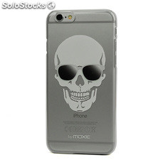 Carcasa Plexiglass Colección Skull Glass Iphone 6 Blanco Moxie