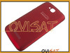 Carcasa trasera roja para Alcatel One Touch C7 Dual, 7041D