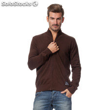 Cardigan cool winter marron - the indian face - 8433856035322 - 14-006-04-s