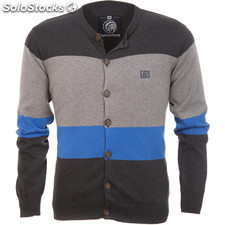 Cardigan urban new york dark grey - dark grey - the indian face - 8433856045598