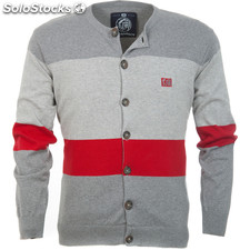 Cardigan urban new york grey melange - grey melange