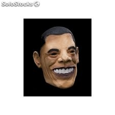 Careta con cabeza barack obama