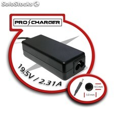carg. ultrabook 19.5v/2.31a 4.5mm x 3.0mm 45w pro charger PEC03-9626