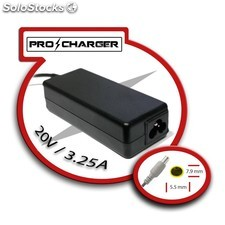 carg. ultrabook 20v/3.25a 7.9mm x 5.5mm 65w pro charger PEC03-9630