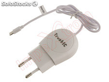 Cargador blanco con cable de datos lightning para Apple iPhone 6, en blister,