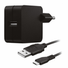 Cargador pared ac + cable micro usb trust para tablet / smartphone
