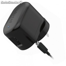 Cargador pared cygnett groovepower smart - 5V/1A - cable micro-usb