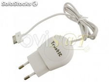 Cargador TC-008, dock de 30 pines en color blanco para Apple iPod, iPhone 2G,