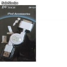 Cargador usb para ipod, ipod mini, iphone