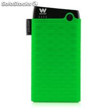 Cargador usb power bank woxter 6000SR verde