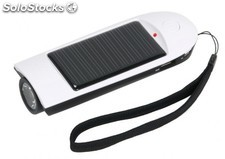 Cargador y Linterna Solar Travel Pal AS103