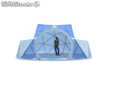 Carpa geodesica Domo smart 6