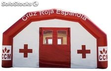 Carpa Hinchable SEALED de Larga Estancia, Personalizable. 15 x 4 x 3 metros
