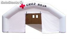 Carpa Hinchable SEWING de Accion Rapida, Personalizable. 15 x 8 x 3 metros