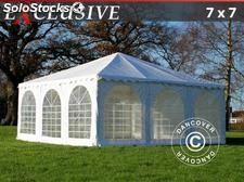 Carpa Jaima / Pagoda Exclusive 7x7m PVC, Blanco