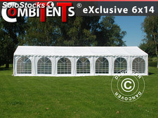 Carpa para fiestas, Exclusive CombiTents®; 6x14m, 5-i-1