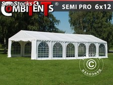Carpa para fiestas, SEMI PRO Plus CombiTents® 6x12m 4 en 1