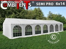 Carpa para fiestas, SEMI PRO Plus CombiTents® 6x14m, 5-i-1