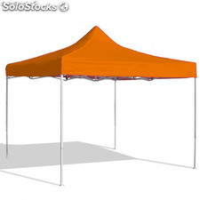 Carpa Plegable 3x3 Eco Naranja