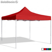 Carpa Plegable 3x3 Eco Roja