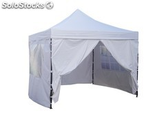 Carpa plegable 3x3 Metros tuberia 30 mm. Superfuerte. Resistente al agua. Color