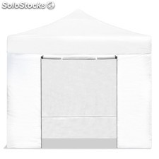 Carpa plegable 3x3 resistente al agua. Color Blanco.